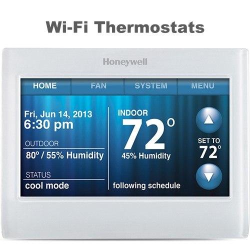 remote WiFi thermostats